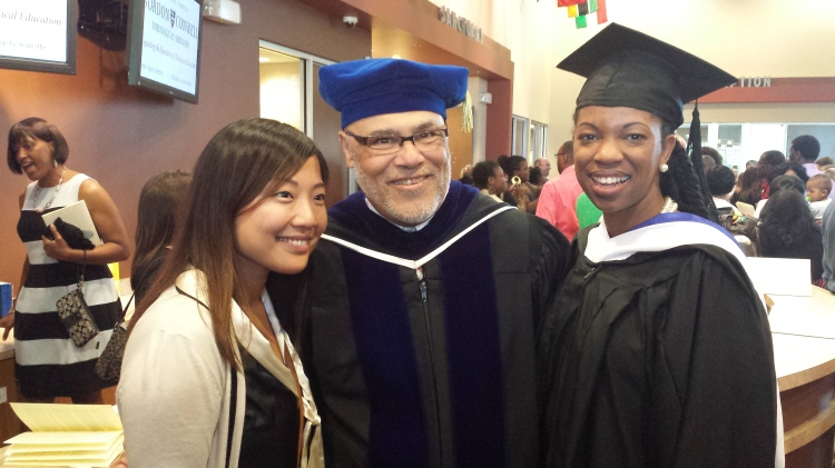 Hanna, Dr. Rodney Cooper (my academic advisor), & me