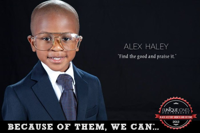 Available at http://www.becauseofthemwecan.com/products/alex-haley