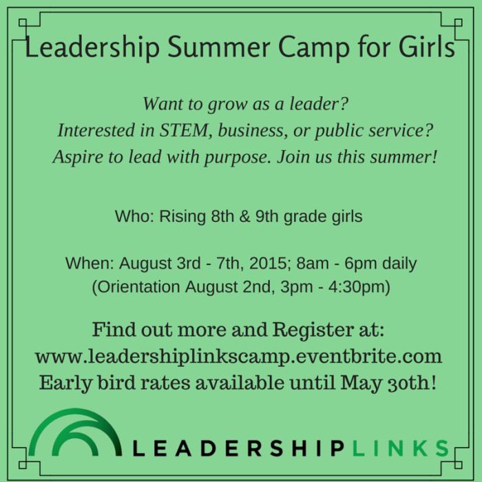 Leadership Summer Camp for Girls_Social Media Meme