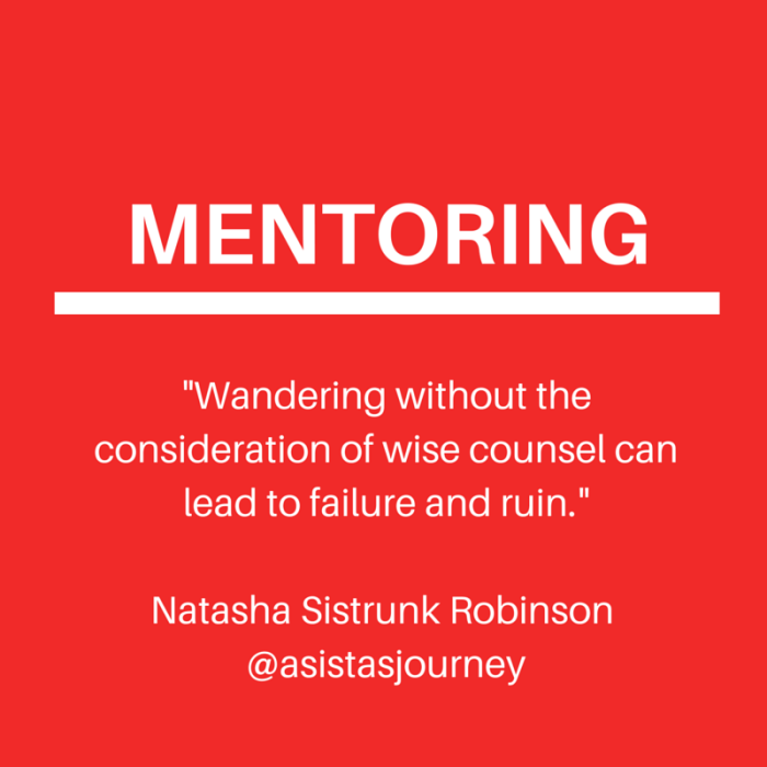 Mentoring Through Uncharted Territory