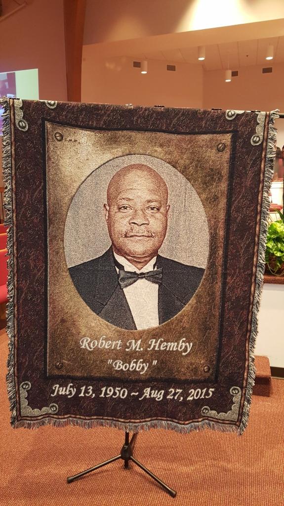 Robert M. Hemby throw