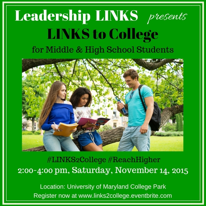 LINKS to College 2015 for Social Media