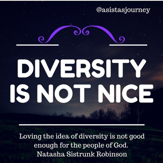 Diversity is Not Nice