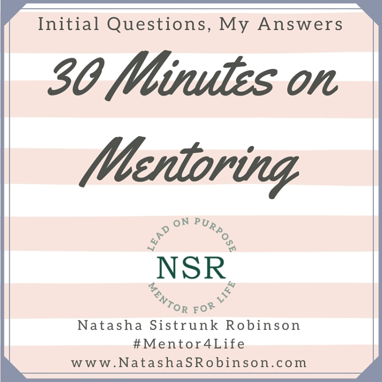 30 Minutes on Mentoring (2)