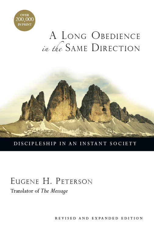 A Long Obedience in the Same Direction book cover