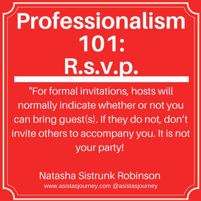 professionalism-101