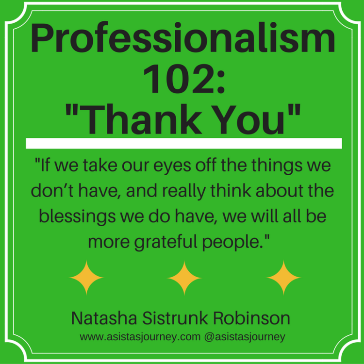 professionalism-102-thank-you