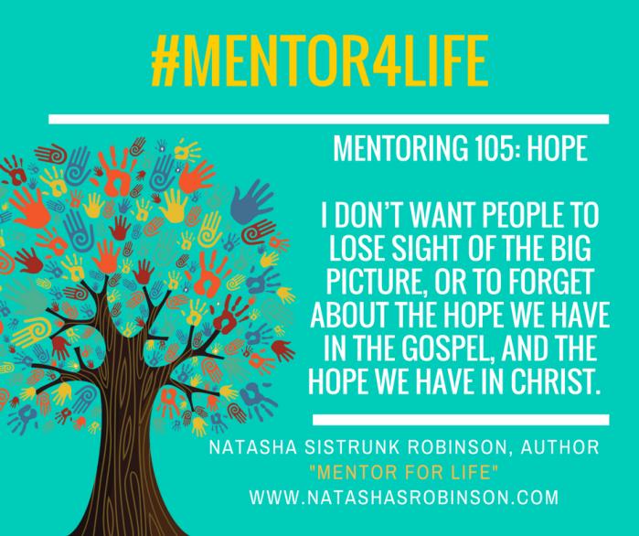 Mentoring 105: Hope