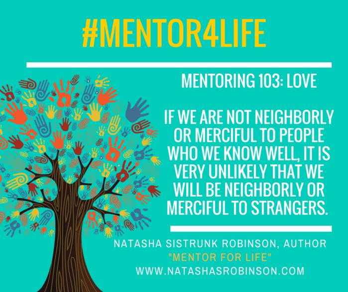 Mentoring 103: Love