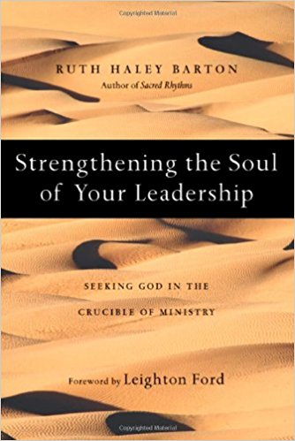 Strengthening your soul for leadership book cover