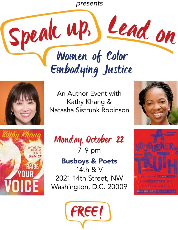 Speak Up Lead On_WashingtonDC